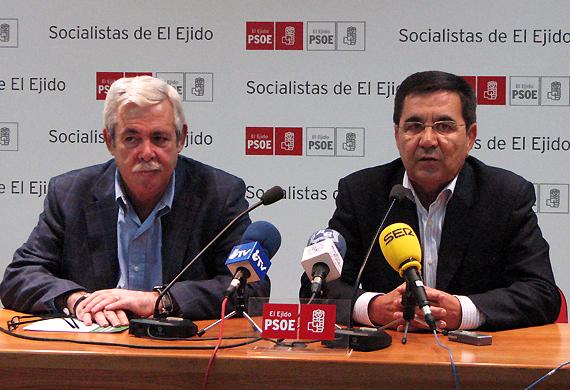 Luis Caparros y Manuel García Quero