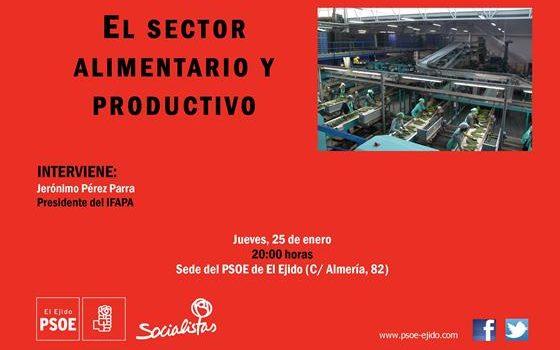 cartel jornada sector alimentario 25-01-18 - copia