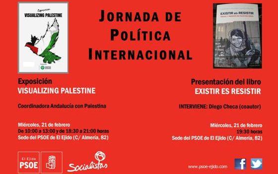 cartel acto palestina 21-02-18