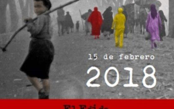 cartel de los actos de la desbandá en el ejido