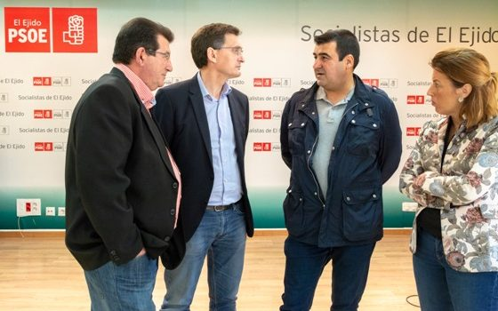 180416 Foto PSOE rebaja fiscal El Ejido Coag 1