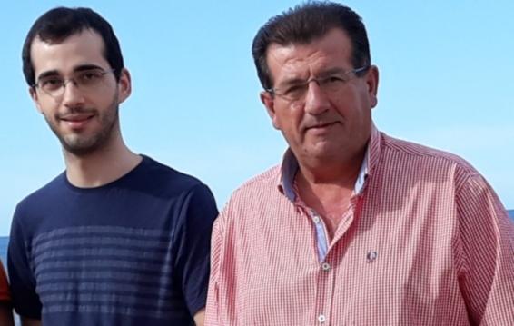 Juan Francisco Puga, vocal del PSOE de Balerma y José Miguel Alarcón, secretario general y concejal del PSOE de El Ejido web