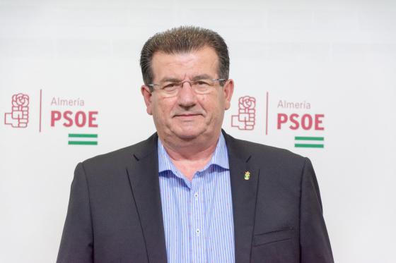 171218 José Miguel Alarcón, secretario general del PSOE de El Ejido
