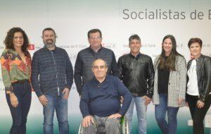 José Miguel Alarcón, María del Mar Suero, Antonia Martín, Gabriel Giménez, Miguel Ángel Suárez, Francisco Ripoll, Ángela Alarcón (1)