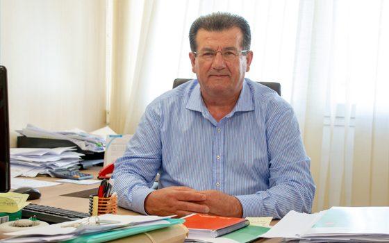 José Miguel Alarcón, portavoz y candidato del PSOE a la Alcaldía de El Ejido