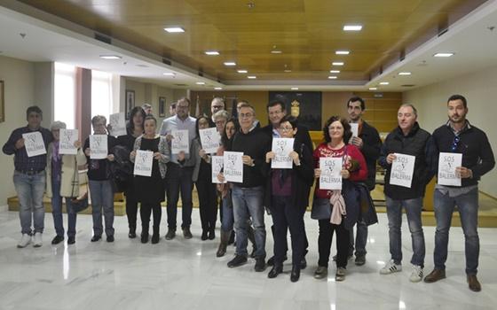 La Corporación respalda al pueblo de Balerma en la petición de actuaciones de emergencia para su costa gracias a la iniciativa socialista de convocar un pleno extraordinario y urgente