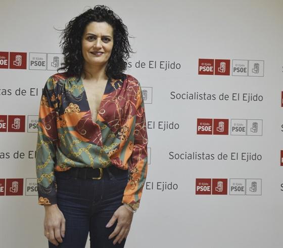 La concejala socialista, María del Mar Suero