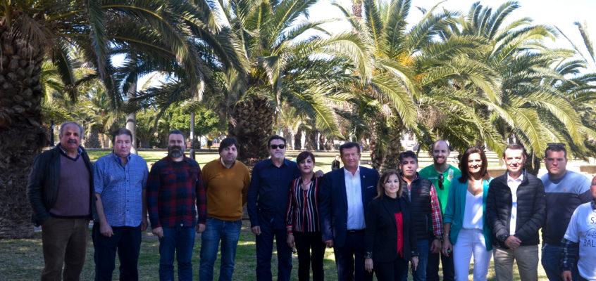 José Miguel Alarcón presenta la candidatura socialista para 'Darle la Vuelta a El Ejido'