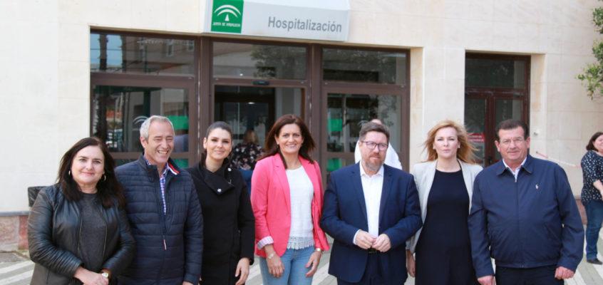 El PSOE denuncia que el Gobierno de la derecha quiere devaluar el Hospital de Poniente y reducirle servicios