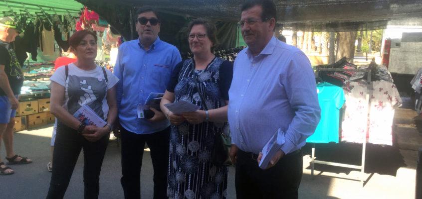 """José Miguel Alarcón subraya que una de sus primeras acciones si es alcalde de El Ejido será potenciar """"el sabor a pueblo de Balerma"""""""