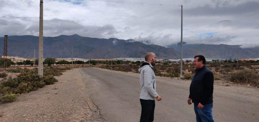 El Grupo Municipal Socialista en la Junta Local de Santa María del Águila registra una moción para dotar de iluminación provisional a la carretera que atraviesa el recinto ferial y el campo de fútbol