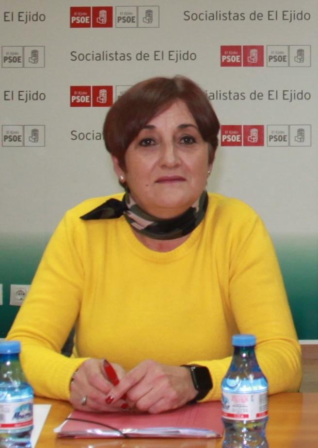 El Grupo Municipal Socialista en el Ayuntamiento de El Ejido designa a Maribel Carrión Ramos como su nueva portavoz