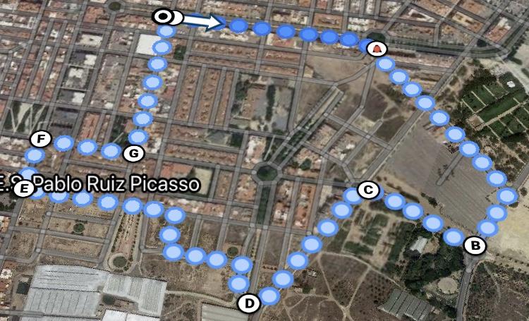 Juventudes Socialistas de El Ejido propone rutas urbanas de un kilómetro en barrios y núcleos para aprovechar las primeras salidas en la desescalada tras el COVID-19