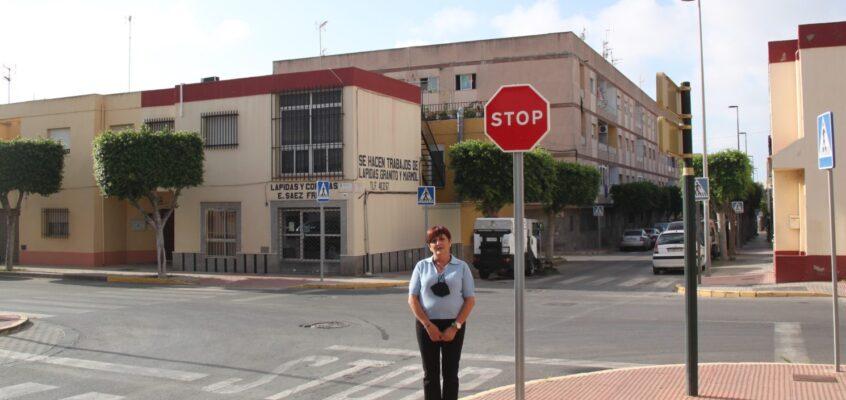 El PSOE de El Ejido pide que se refuerce la seguridad vial del cruce que une la Avenida de la Luz con la calle Murgis