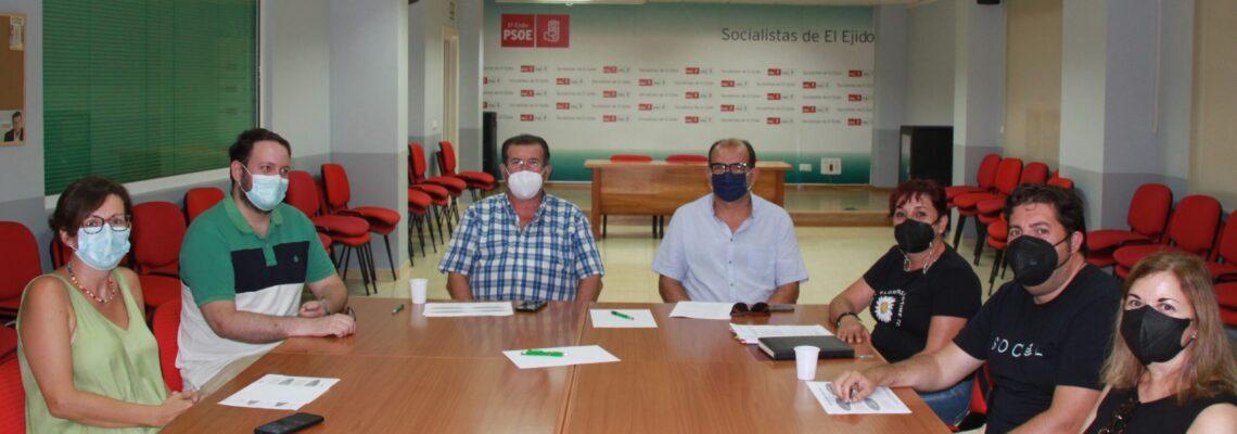 El PSOE crea un grupo de trabajo para impulsar propuestas que contribuyan a la elaboración del Plan Estratégico para la Recuperación de El Ejido
