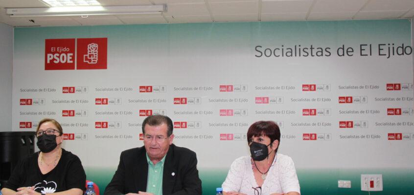 """El PSOE de El Ejido pide a Góngora que una vez resuelta su situación judicial """"se involucre más"""" en la Mesa de Diálogo Institucional Permanente"""